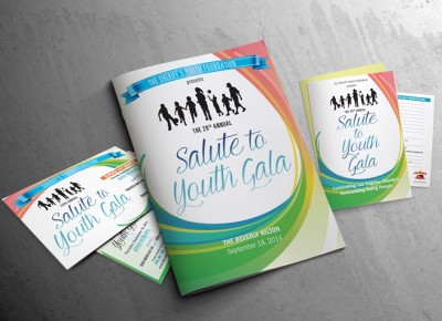 Sheriff's Youth Foundation Gala Invitation Package and Program Book